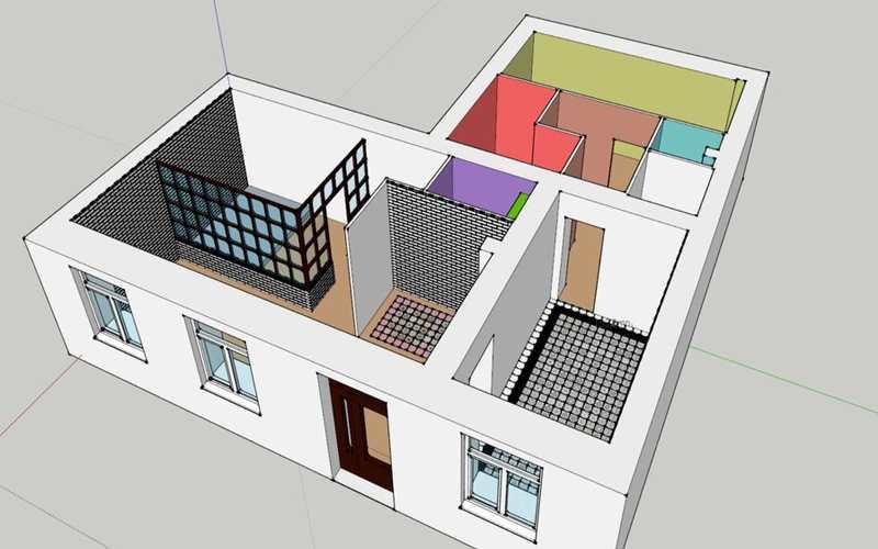 План ремонта студии красоты