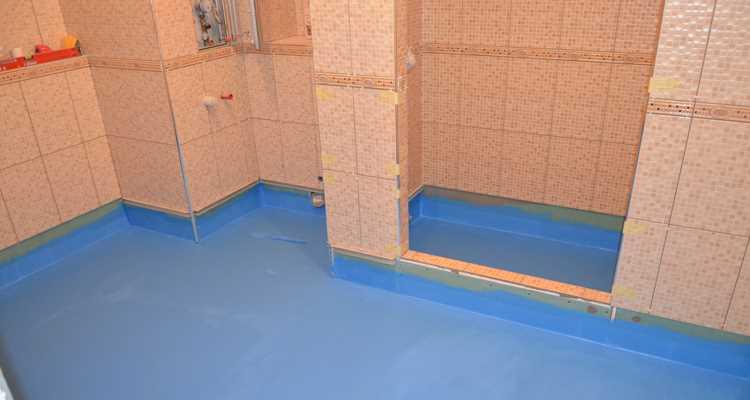Гидроизоляция пола ванной