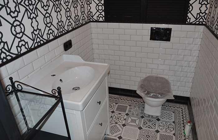 Установка сантехники в туалет