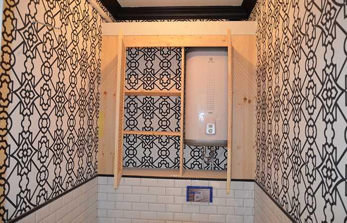 изготовление шкафчика в туалет