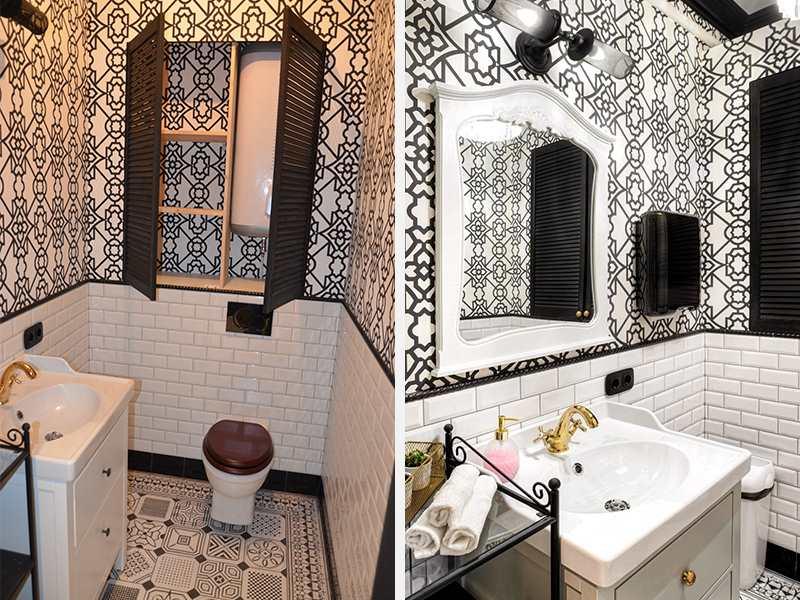 Ремонт туалета под ключ в студии красоты. Частный плиточник СПб