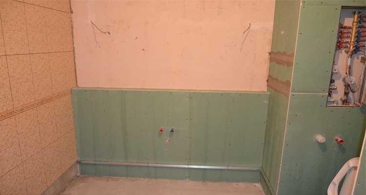 Укладка плитки на гипрок спб