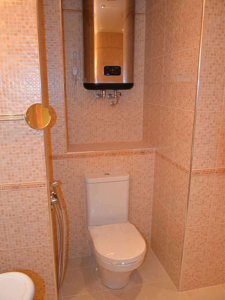 унитаз и бойлер  ремонт ванной