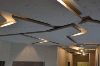 Ломанный потолок из гипсокарптона
